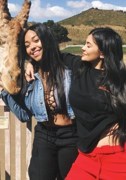 In recent photos on Instagram Kylie doesn't seem to be showing any signs of a