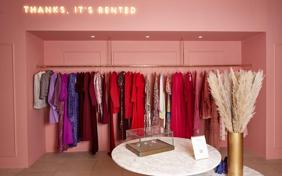 Shoppers are also opting for rentals - Selfridges