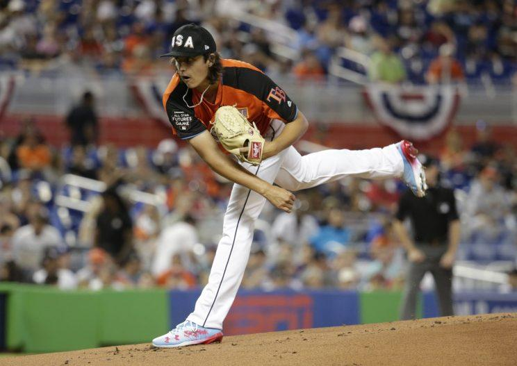 Rays prospect Brent Honeywell believes he's ready for the majors. (AP Photo)