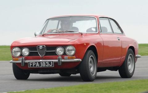 Alfa Romeo 1750 GTV - Paul Hudson - Goodwood trackday - Credit: Ken Carrington