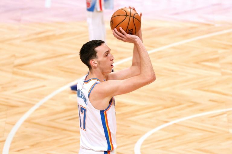 Oklahoma City's Serbian rookie Aleksej Pokusevski scored a career-high 23 points in the Thunder's 128-122 NBA victory over the Memphis Grizzlies