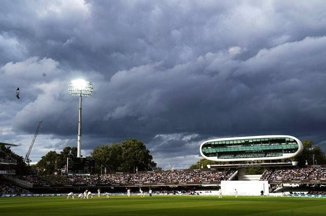 The light was fading at Lord's