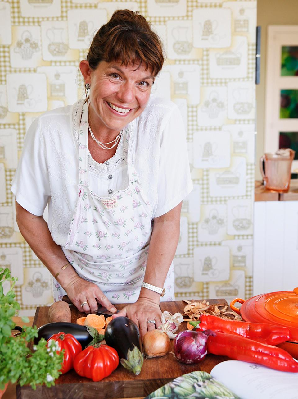 Charlotte Hastings from Therapy Kitchen believes cooking therapy is so good for couples as they they can physically experience their impact on one another, as opposed to talk therapy, which is more abstract