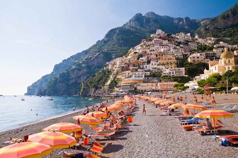 Italy has announced it hopes to welcome British tourists to its beaches this summer. (Getty Images)
