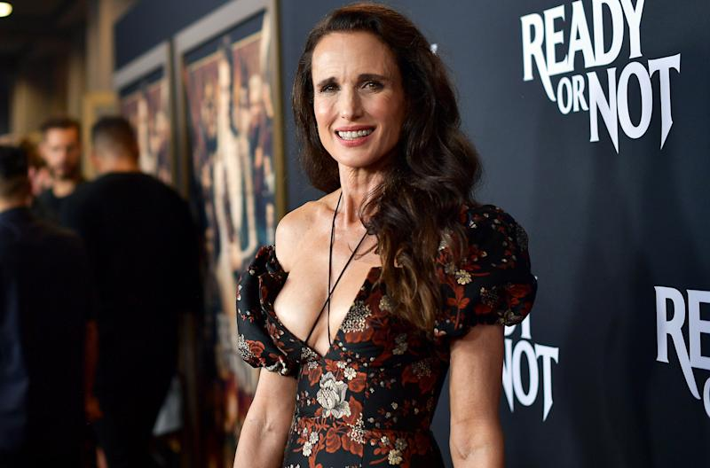 Andie MacDowell is the eye-popping number. Photo: Getty Images