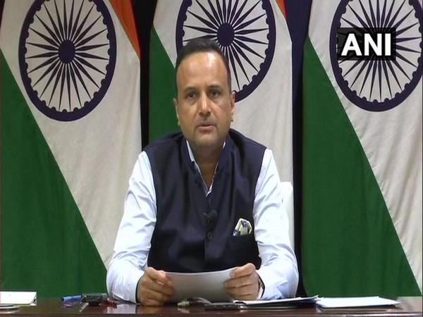 Ministry of External Affairs spokesperson Anurag Srivastava. (Photo/ANI)