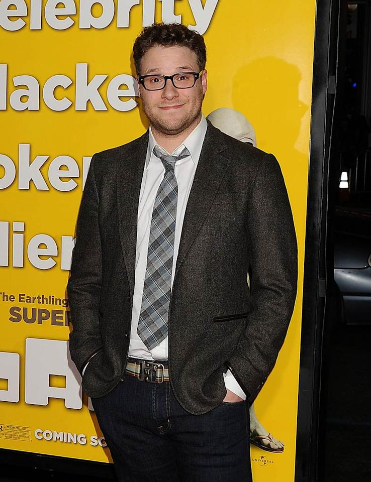 "April 15: Seth Rogen turns 29 Jeffrey Mayer/<a href=""http://www.wireimage.com"" target=""new"">WireImage.com</a> - March 14, 2011"