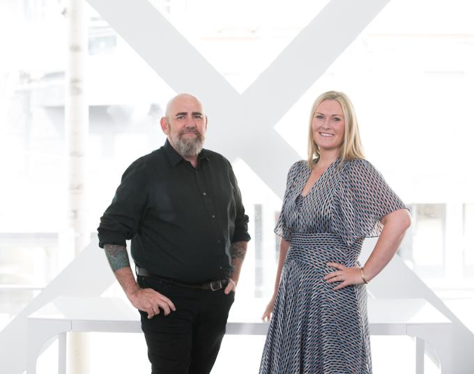 BlueOcean founders Grant McDougall and Liza Nebel