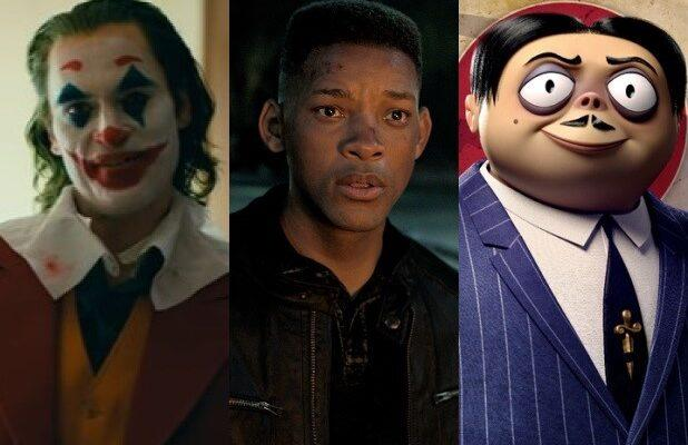 Can Will Smith's 'Gemini Man' or 'Addams Family' Upset 'Joker' at the Box Office?