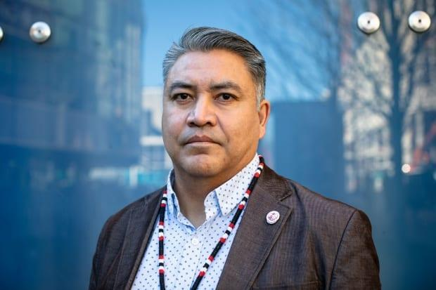 Terry Teegee, regional chief of the B.C. Assembly of First Nations, pictured in 2019. Teegee says it's disappointing that Justin Trudeau, Erin O'Toole and Jagmeet Singh are not participating in the assembly's annual general meeting, which is being held less than a week before Canadians go to the polls in a federal election. (Maggie MacPherson/CBC - image credit)