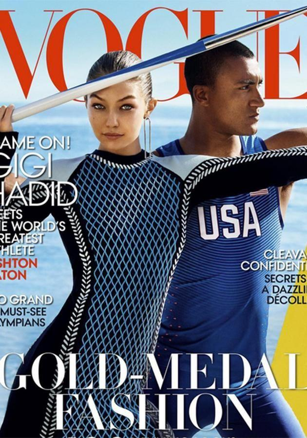 Gigi unveiled her first ever Vogue America cover last week.