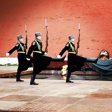 Changing of the guard at the Kremlin. (#NickInEurope)