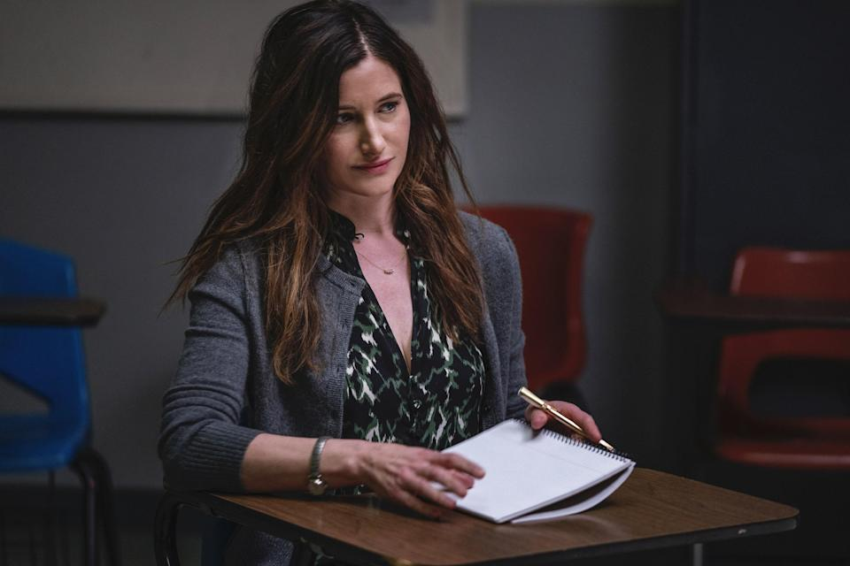 Kathryn Hahn's Eve is a 40-something single mom whose son, Brendan, has just gone off to college. Now that they're both on their own, they have a <em>lot</em> of self-exploration to do.