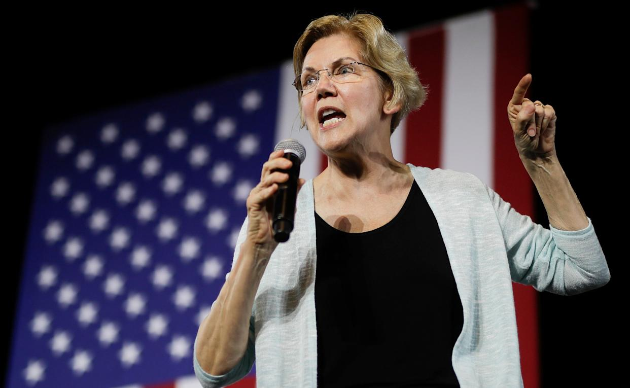 Sen. Elizabeth Warren (D-Mass.) said she was pushed out of her job teaching at a public school once she became visibly pregnant.  (Photo: Chris Carlson/AP)