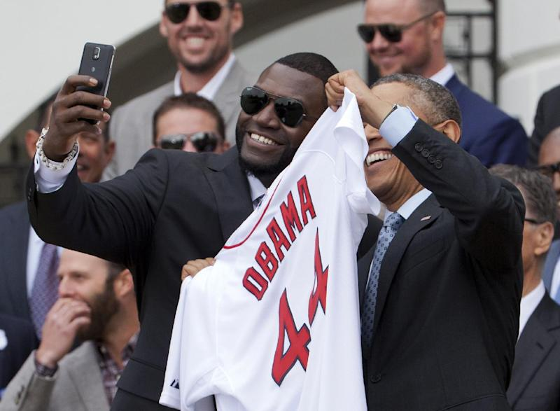 Olympians say selfies were stopped at White House