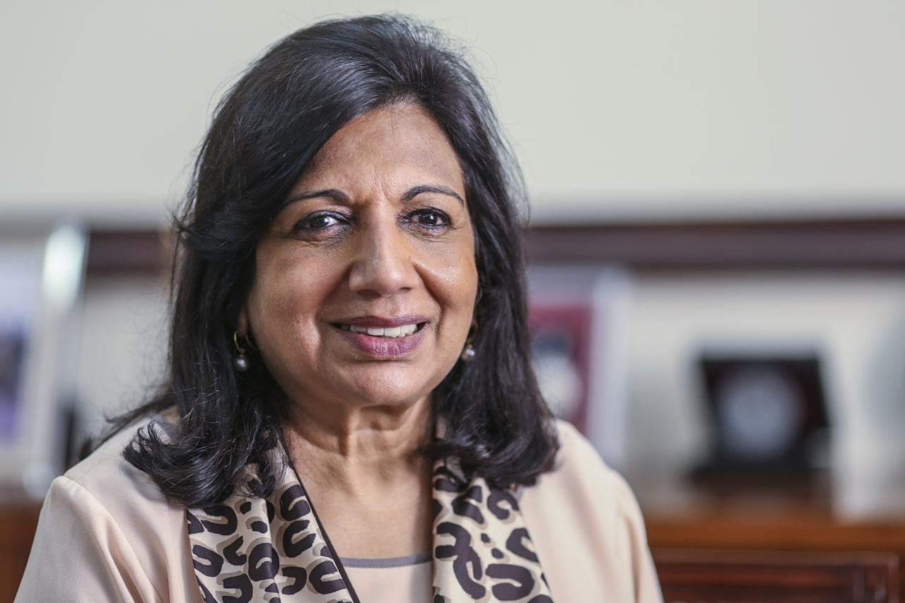 <p>Rank 64. Biocon chairman and managing director Kiran Mazumdar-Shaw </p>