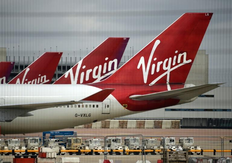 Creditors back £1.2bn virus rescue for Virgin Atlantic