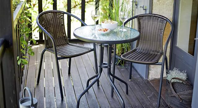 This Trendy Outdoor Furniture Set Is Under 50