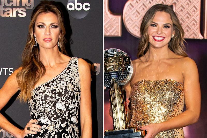 Erin Andrews and Hannah Brown   Eric McCandless/Getty (2)