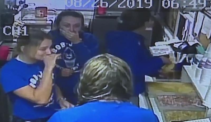 The employees at Bob Jo's Frozen Custard became emotional after an unknown customer left a $200 tip. (Credit: Fox News Detroit)