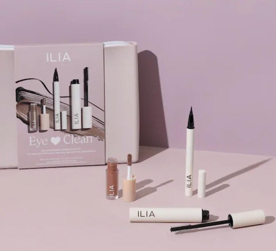 ilia beauty eye love clean beauty set
