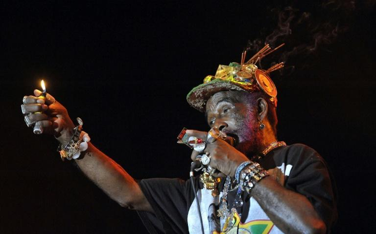 """Lee """"Scratch"""" Perry's layering techniques were the stuff of legend; he used stones, water, kitchen utensils to create surreal, often haunting, sonic density (AFP/Attila KISBENEDEK)"""