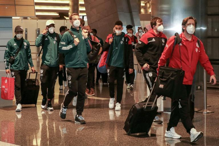 Bayern players arrive in Doha on Saturday, seven hours later than planned