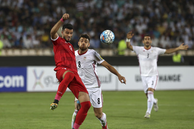 Syria claim play-off spot after draw against Iran