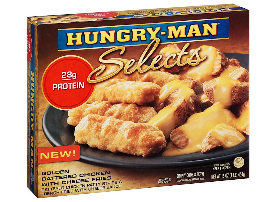 hungry man selects