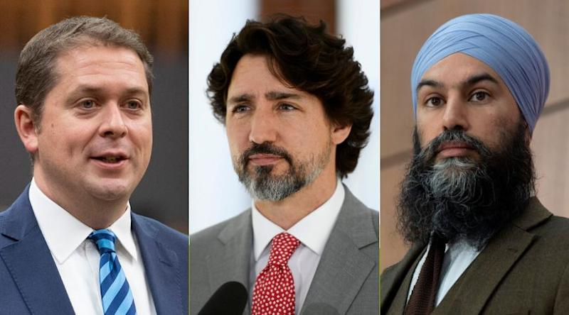 News of the NDP's application for the Canada Emergency Wage Subsidy on Friday prompted the federal Liberals and Conservatives to announce they've applied and received money from the program. (Photo: CP)