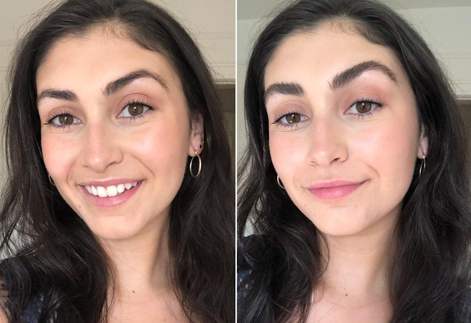 """<p>The <a href=""""https://www.popsugar.com/buy/Rodan-Fields-Brow-Defining-Boost-587691?p_name=Rodan%20%2B%20Fields%20Brow%20Defining%20Boost&retailer=rodanandfields.com&pid=587691&price=112&evar1=bella%3Aus&evar9=47603066&evar98=https%3A%2F%2Fwww.popsugar.com%2Fbeauty%2Fphoto-gallery%2F47603066%2Fimage%2F47603069%2FBefore-After-Using-Rodan-Fields-Brow-Defining-Boost&list1=makeup%2Ceyebrows%2Crodan%20%2B%20fields%2Cbeauty%20shopping%2Cbeauty%20review%2Cbeauty%20news&prop13=api&pdata=1"""" class=""""link rapid-noclick-resp"""" rel=""""nofollow noopener"""" target=""""_blank"""" data-ylk=""""slk:Rodan + Fields Brow Defining Boost"""">Rodan + Fields Brow Defining Boost</a> ($112) will be available for purchase through Rodan + Fields independent consultants and at <a href=""""https://www.rodanandfields.com/"""" class=""""link rapid-noclick-resp"""" rel=""""nofollow noopener"""" target=""""_blank"""" data-ylk=""""slk:rodanandfields.com"""">rodanandfields.com</a> in August.</p>"""