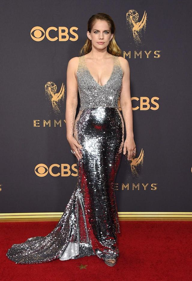 Shiny Silver Gowns Dominated the Emmys