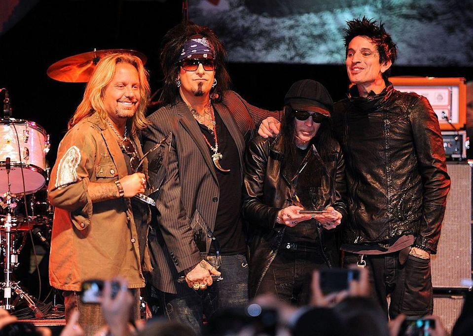 <p>They were also presented with the Elmer Valentine Award for their contributions to the history of The Sunset Strip in 2011—and the City of West Hollywood named a special day in their honor.</p>
