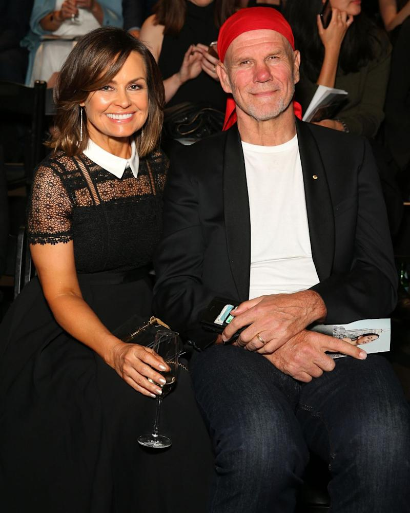 Lisa Wilkinson's husband Peter FitzSimons has spoken out about how his wife