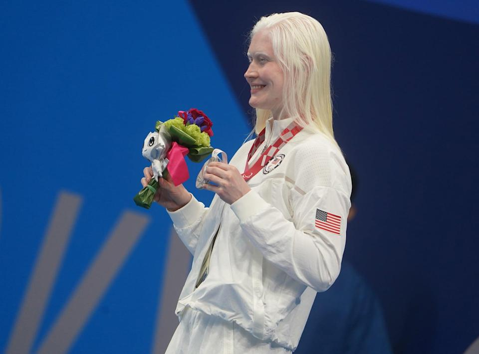 """<p>While training for and competing in the Tokyo Paralympics, <a href=""""http://www.colleenroseyoung.com/about"""" class=""""link rapid-noclick-resp"""" rel=""""nofollow noopener"""" target=""""_blank"""" data-ylk=""""slk:Young has been studying for her MBA"""">Young has been studying for her MBA</a> in Health Services Management. Her undergraduate degree is in communications with a minor in public relations.</p>"""