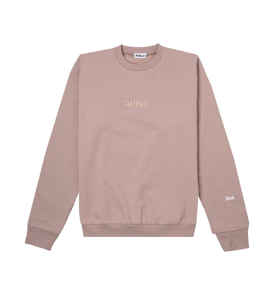 """<p><strong>Alife</strong></p><p>alifenewyork.com</p><p><strong>$128.00</strong></p><p><a href=""""https://alifenewyork.com/collections/new-arrivals/products/alife%C2%AE-basics-crewneck-heather-coral?variant=39274913398861"""" rel=""""nofollow noopener"""" target=""""_blank"""" data-ylk=""""slk:Shop Now"""" class=""""link rapid-noclick-resp"""">Shop Now</a></p><p>Alife may call it a basic, but in a color like this, it's anything but. </p>"""