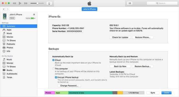 itunes12-device-summary-encrypt-iphone-backup