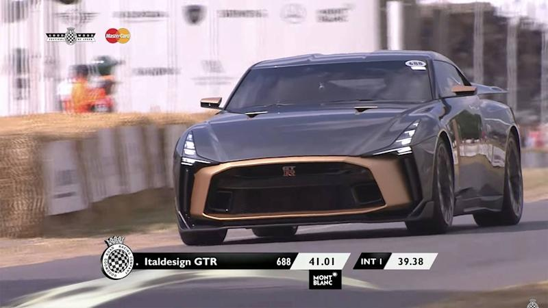 Italdesign Nissan GT-R At Goodwood