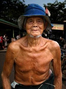 Elderly man from Pulau Ubin