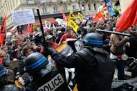 Clashes as France gripped by fresh wave of strikes