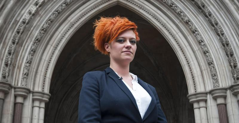 Jack Monroe was awarded £24,000 in damages at the High Court in London after being falsely accused of condoning the desecration of war memorials: PA
