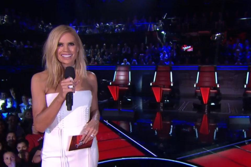 Sonia was the face of The Voice since 2015. Photo: Nine