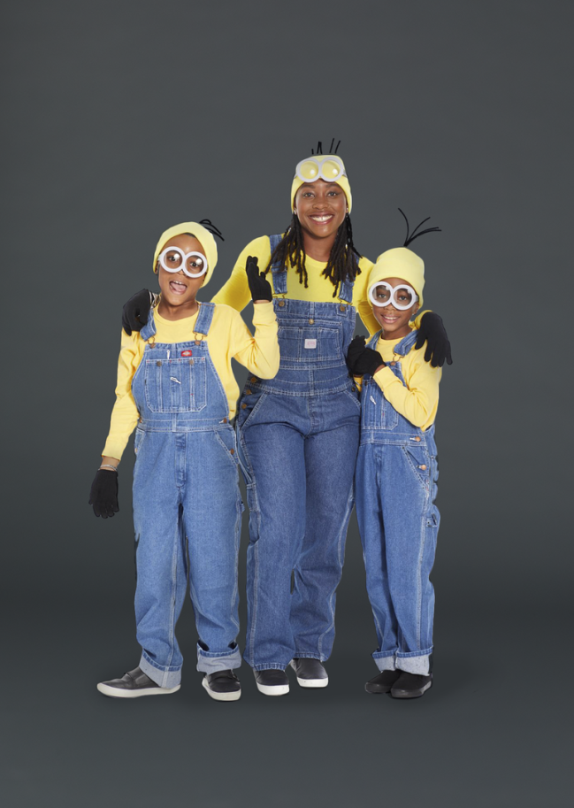 """<p>Minions are meant to be endlessly copied — that's why Gru has so many of them. And with such a simple costume, you can do the same thing at home. </p><p><em><a href=""""https://www.goodhousekeeping.com/holidays/halloween-ideas/a29061607/diy-minion-halloween-costume-ideas/"""" rel=""""nofollow noopener"""" target=""""_blank"""" data-ylk=""""slk:Get the tutorial »"""" class=""""link rapid-noclick-resp"""">Get the tutorial »</a></em></p>"""