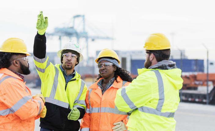 When Duke University researchers looked at over 800 construction workers with COPD, they found that almost a third (32 percent) of the cases were due to workplace exposures among construction workers who had never smoked. (Photo: Getty Creative)