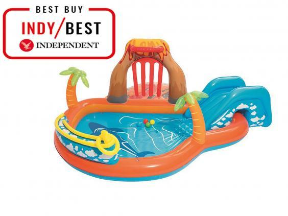 Keep kids entertained with this blowup paddling pool (The Independent)
