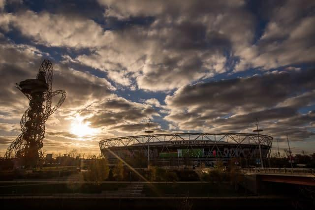 The Olympic Stadium is due to host the Anniversary Games in July (Steven Paston/PA)
