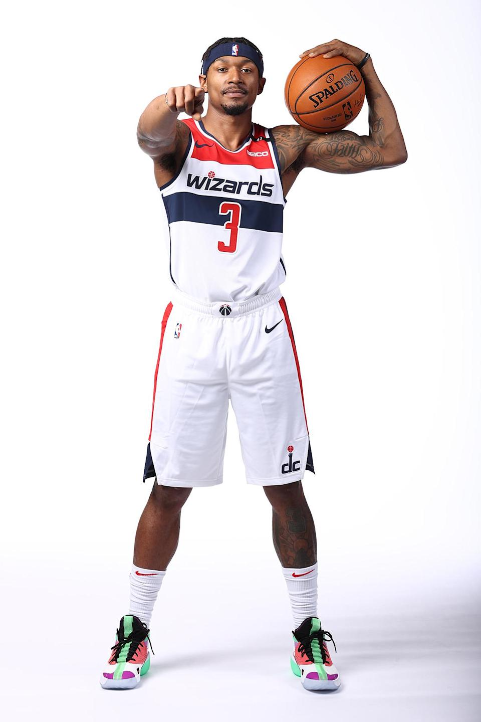 """<p>""""It's a blessing, we've never ever in my life been on the same team,"""" Washington Wizards' Beal said of All-Star teammate Tatum.</p>"""