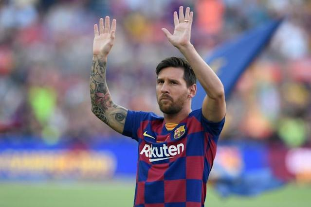 Can Lionel Messi make his mark on the Champions League again, or is it time for a fresher face to be the big star of the competition? (AFP Photo/Josep LAGO)