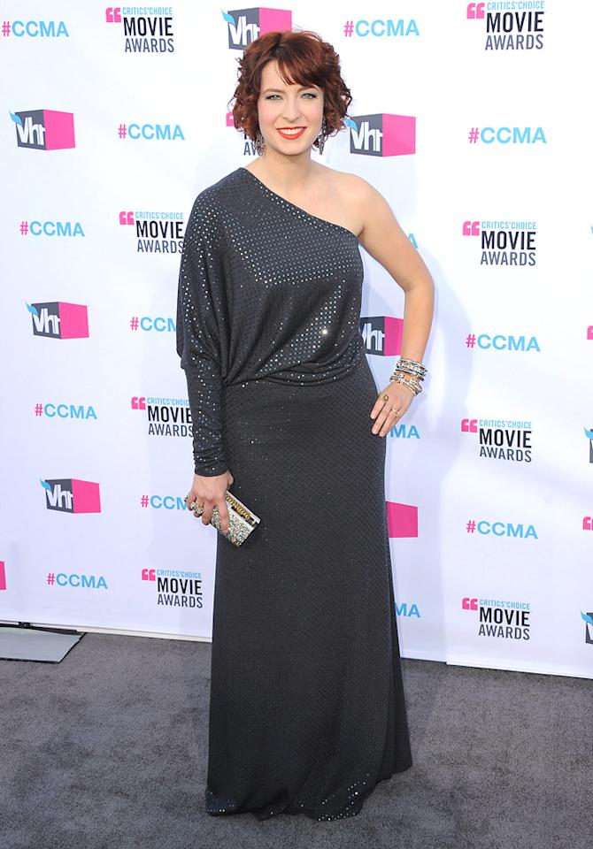 """<a href=""""http://movies.yahoo.com/movie/contributor/1809215786"""">Diablo Cody</a> at the 17th Annual Critics' Choice Awards in Hollywood on January 12, 2012."""