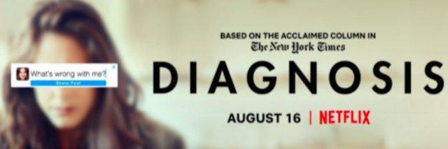 """Poster for """"Diagnosis"""" Netflix Series"""